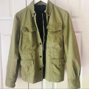 Rag and Bone Women's Olive Green Field Jacket